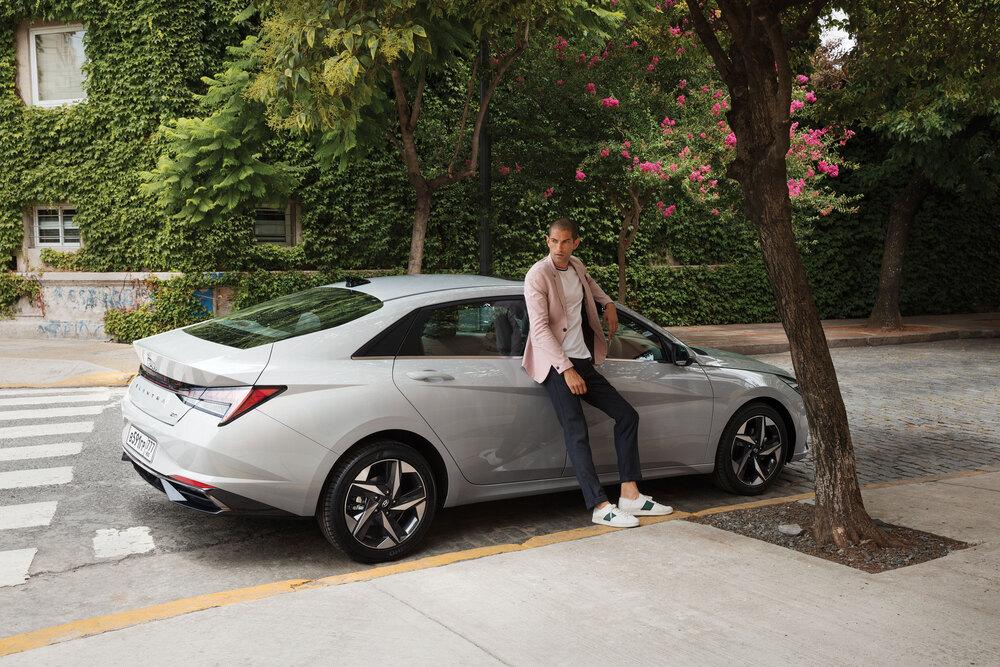 Hyundai Elantra 7 поколение CN7 (2020) Седан