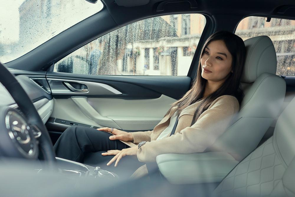 Mazda CX-9 2 поколение [рестайлинг] (2020) Внедорожник 5 дв. интерьер