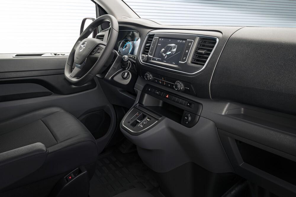 Opel Vivaro 3 поколение C (2019) Фургон интерьер