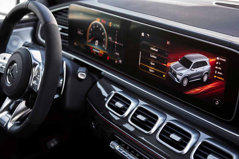 Mercedes-AMG GLS-klasse X167 (2020) Внедорожник 5 дв. интерьер