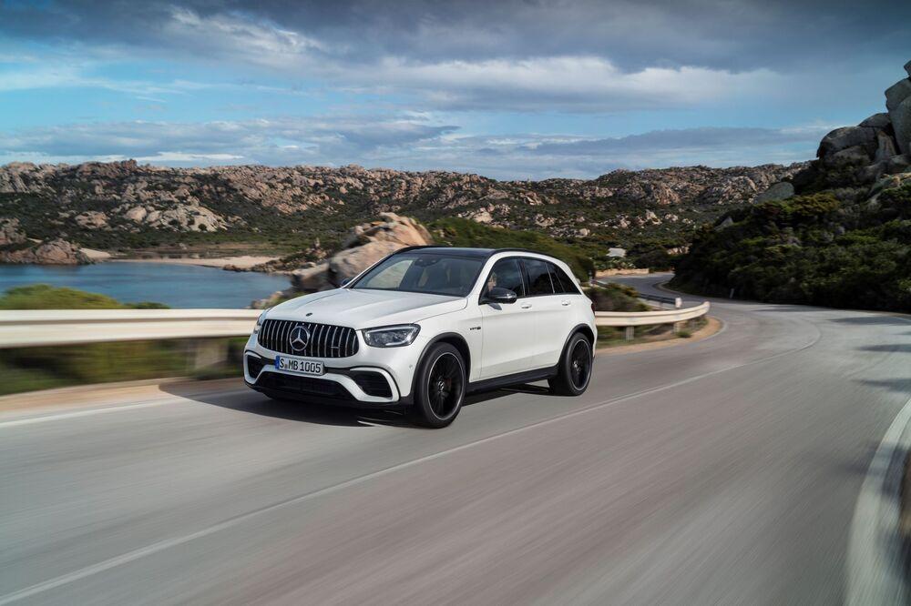 Mercedes-AMG GLC X253 [рестайлинг] (2019) Внедорожник 5 дв.