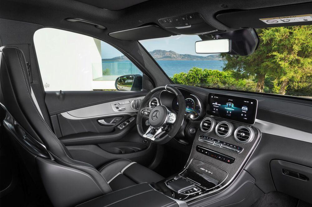 Mercedes-AMG GLC X253 [рестайлинг] (2019) Внедорожник 5 дв. интерьер