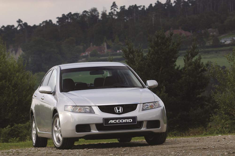 Honda Accord 7 поколение Седан 4-дв.