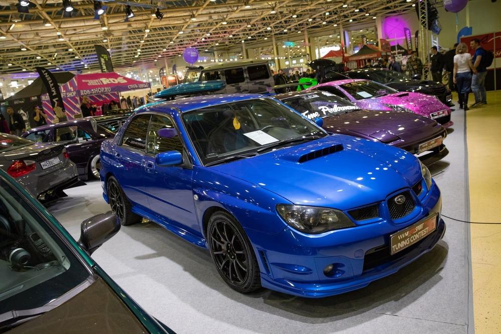 экспонаты Motorsport Expo 2021