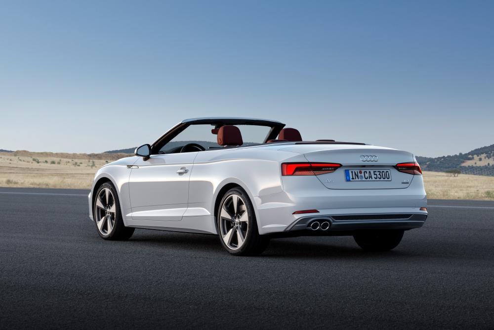 Audi A5 2 поколение (2016-2018) Кабриолет