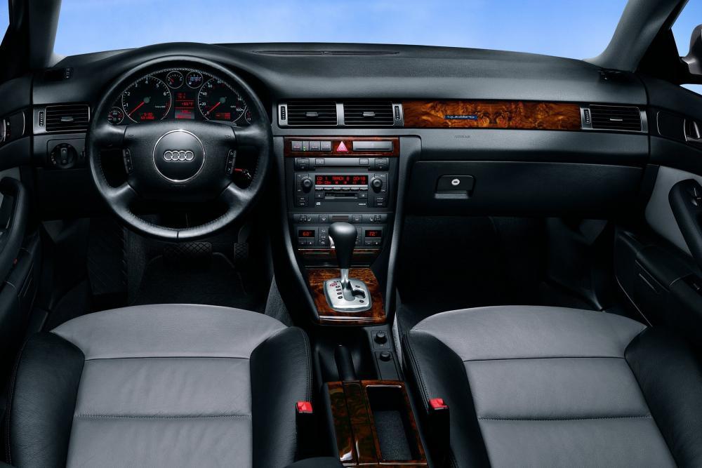Audi Allroad 4B/C5 (2000-2006) Универсал интерьер