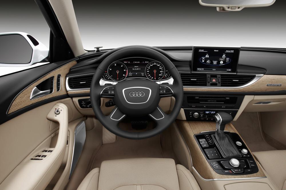 Audi A6 4 поколение 4G/C7 (2010-2014) Avant универсал 5-дв. интерьер