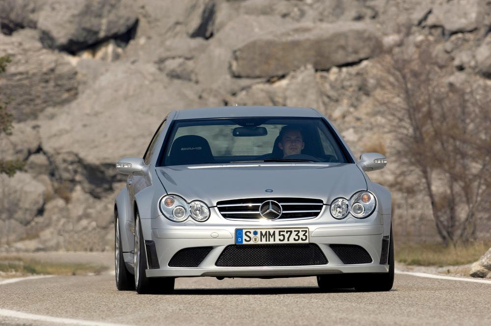 Mercedes-Benz CLK AMG C209 [рестайлинг] Black Series (2007-2010) купе