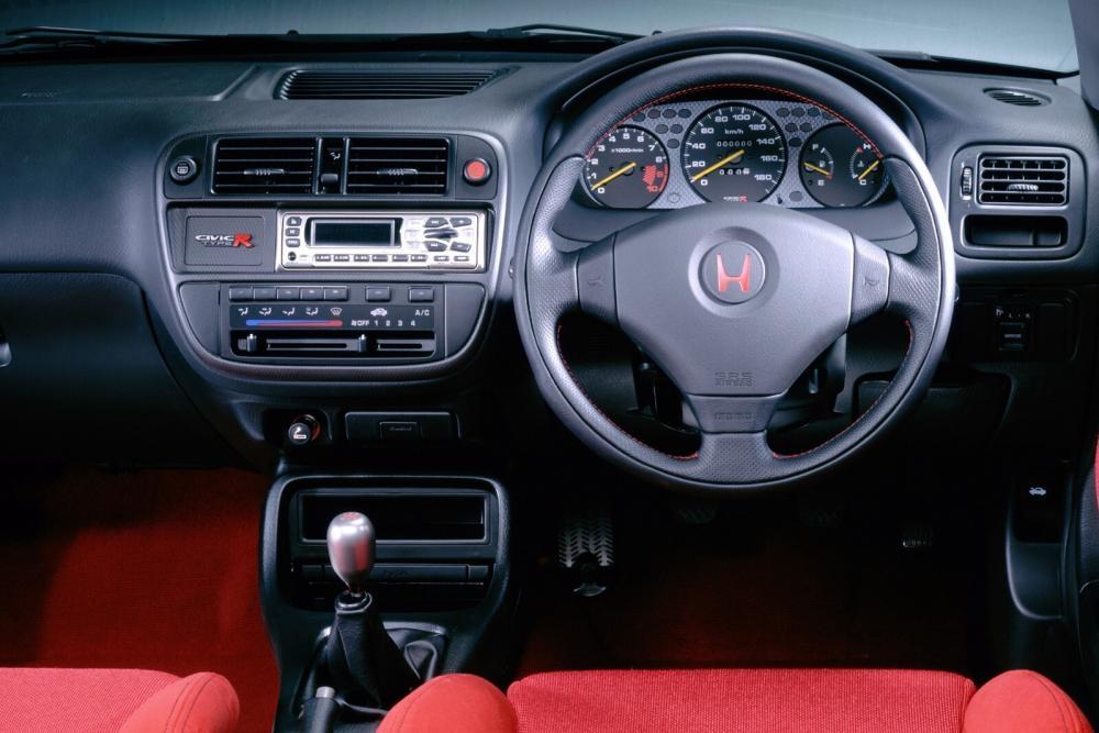 Honda Civic 6 поколение (1995-2001) Type-R хетчбэк 3-дв. интерьер