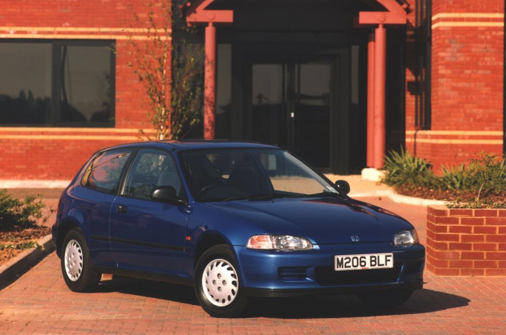 Honda Civic 5 поколение (1991-1997) Хетчбэк 3-дв.