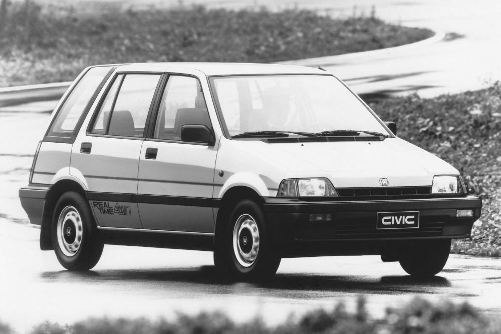 Honda Civic 3 поколение Shuttle универсал 5-дв.