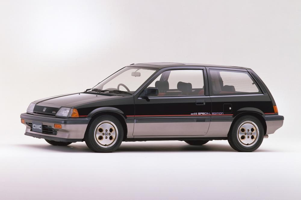Honda Civic 3 поколение Хетчбэк
