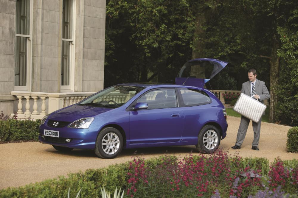 Honda Civic 7 поколение рестайлинг Хетчбэк 3-дв.