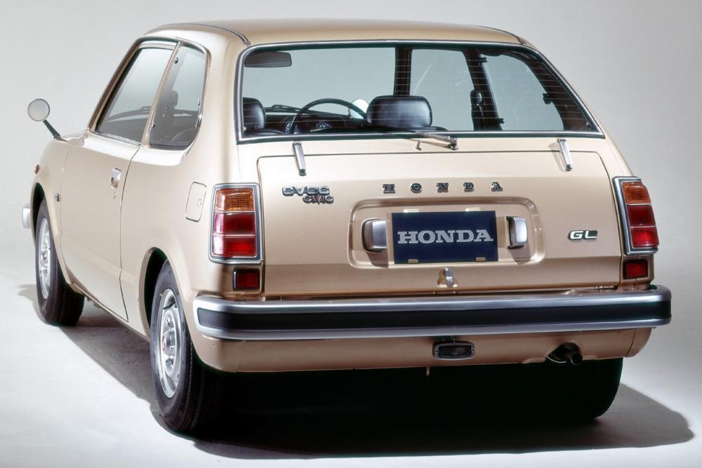Honda Civic 1 поколение Седан 2-дв.