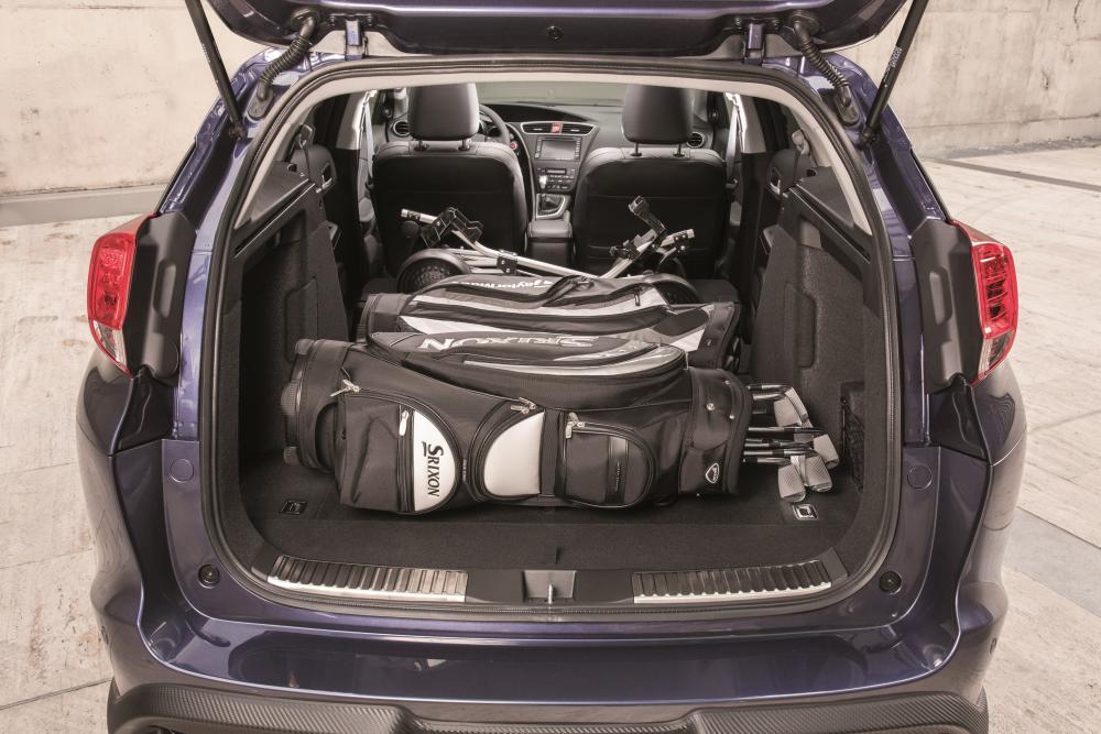 Honda Civic 9 поколение рестайлинг Tourer универсал багажник