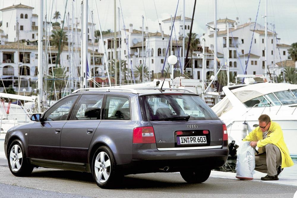 Audi A6 2 поколение 4B/C5 [рестайлинг] (2001-2004) Универсал