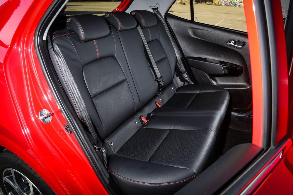 Kia Picanto 3 поколение [рестайлинг] (2020) хетчбэк интерьер