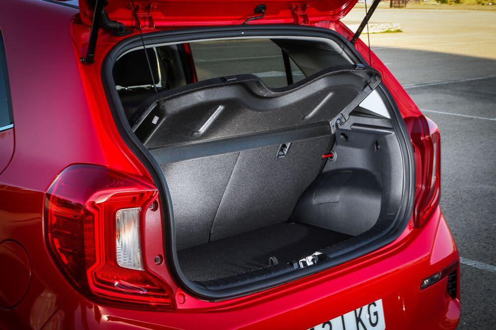Kia Picanto 3 поколение [рестайлинг] (2020) хетчбэк багажник