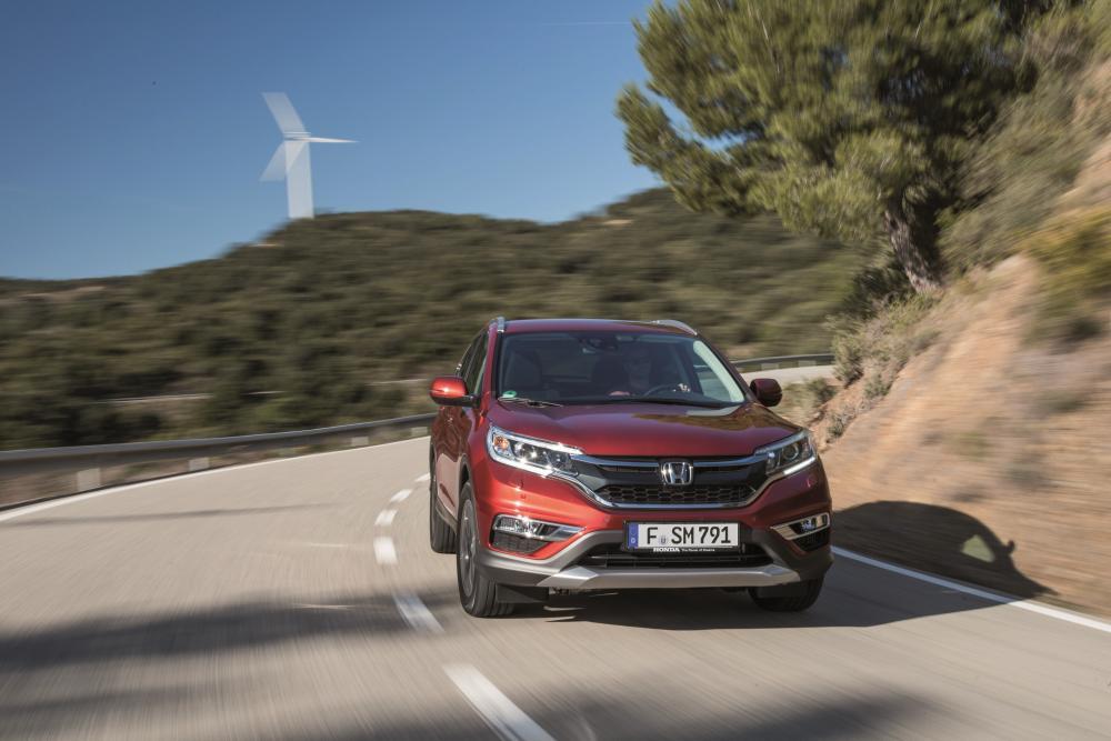 Honda CR-V 4 поколение рестайлинг