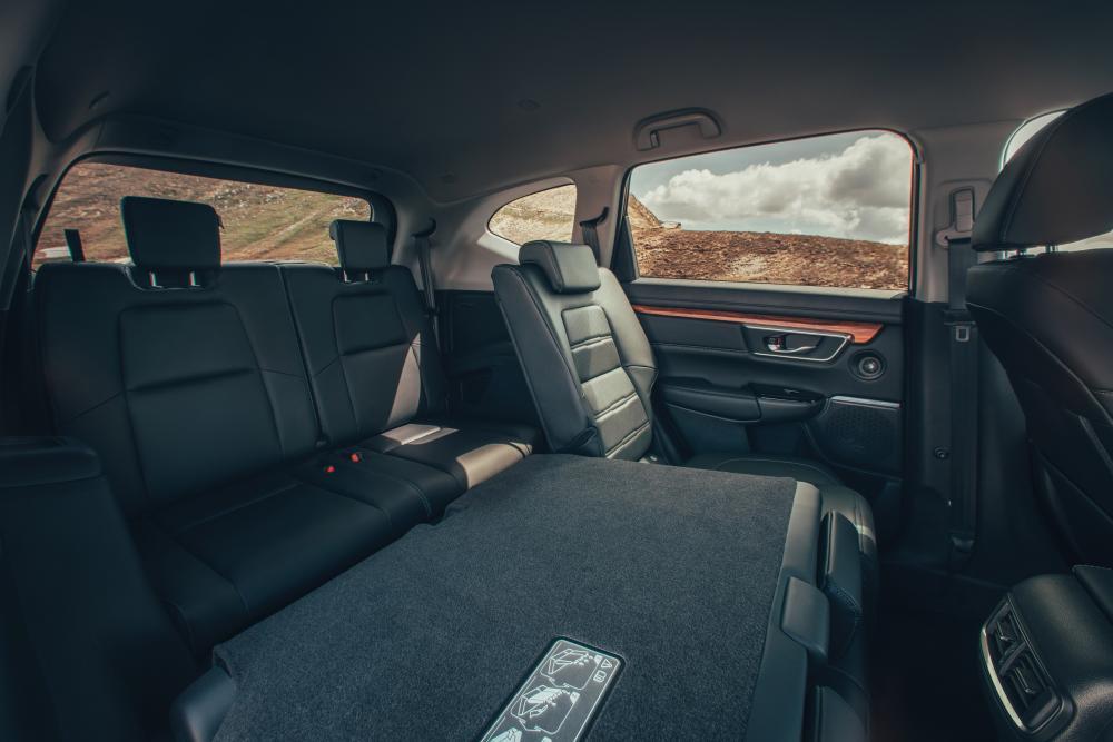 Honda CR-V 5 поколение Кроссовер интерьер