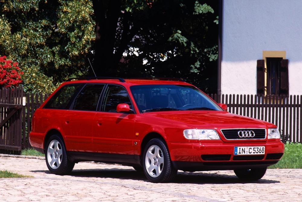 Audi A6 1 поколение A4/C4 (1994-1997) Универсал