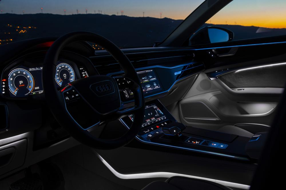 Audi A6 5 поколение C8 (2018) Седан интерьер