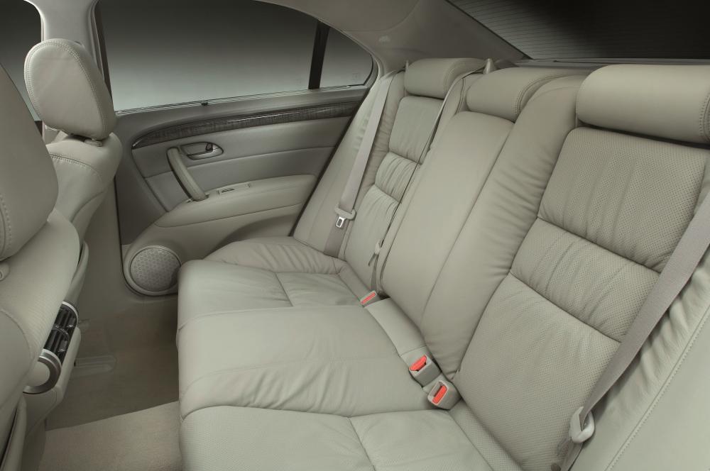 Honda Legend 4 поколение рестайлинг Седан интерьер