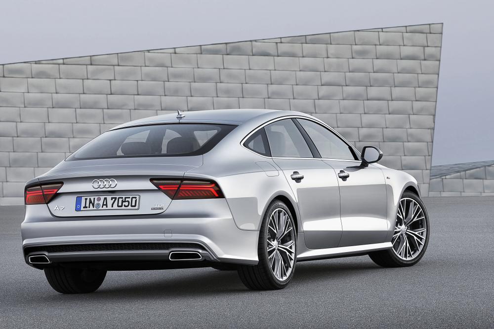 Audi A7 4G [рестайлинг] (2014-2018) Sportback лифтбэк