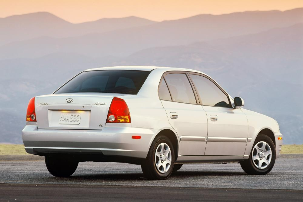 Hyundai Accent 2 поколение LC [рестайлинг] (2002-2006) Седан