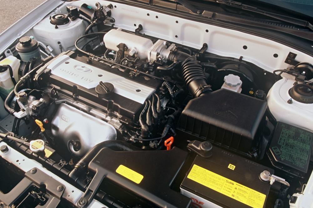 Hyundai Accent 2 поколение LC [рестайлинг] (2002-2006) Седан двигатель