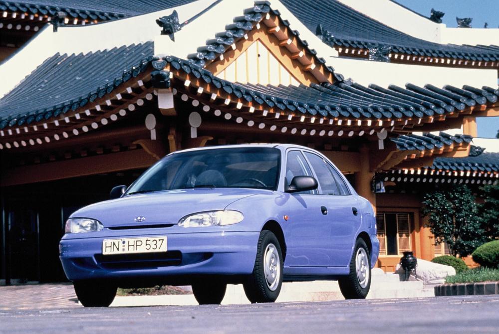 Hyundai Accent 1 поколение X3 (1994-1997) Седан