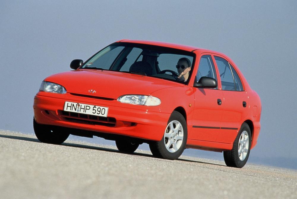 Hyundai Accent 1 поколение X3 (1994-1997) Лифтбэк 5-дв.