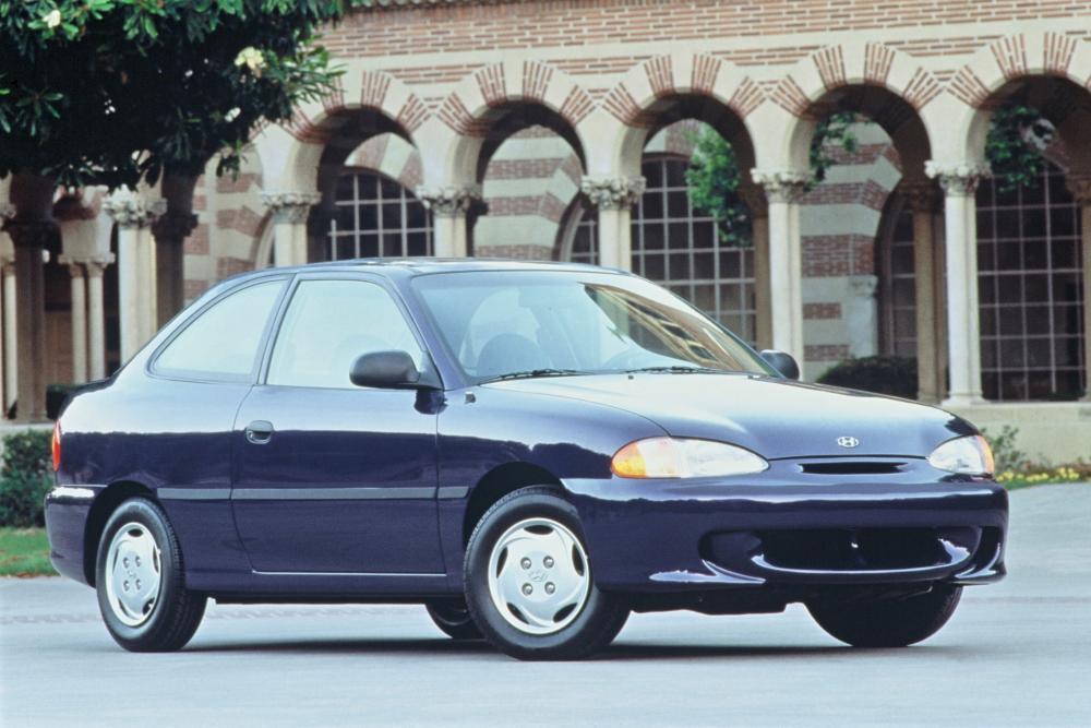 Hyundai Accent 1 поколение X3 (1994-1997) Лифтбэк