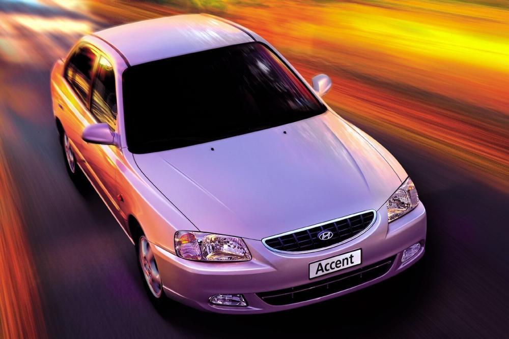 Hyundai Accent 2 поколение LC (1999-2013) Седан