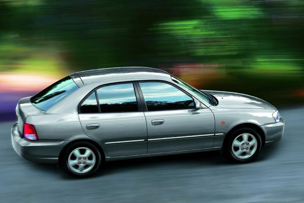 Hyundai Accent 2 поколение LC (1999-2013) Лифтбэк 5-дв.