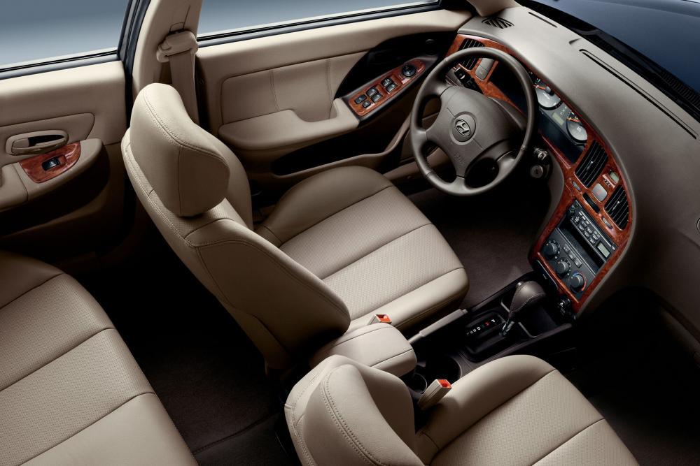 Hyundai Elantra 3 поколение XD рестайлинг (2003-2009) Седан интерьер