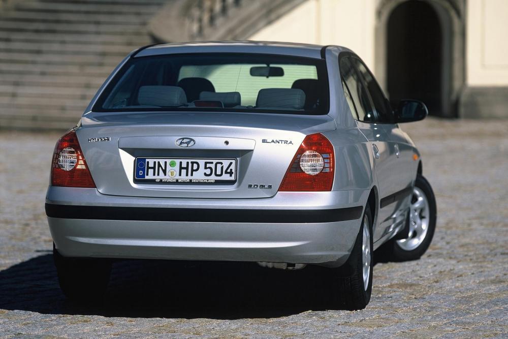 Hyundai Elantra 3 поколение XD рестайлинг (2003-2009) Седан