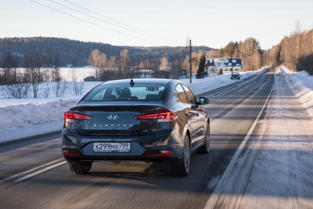 Hyundai Elantra AD рестайлинг Седан