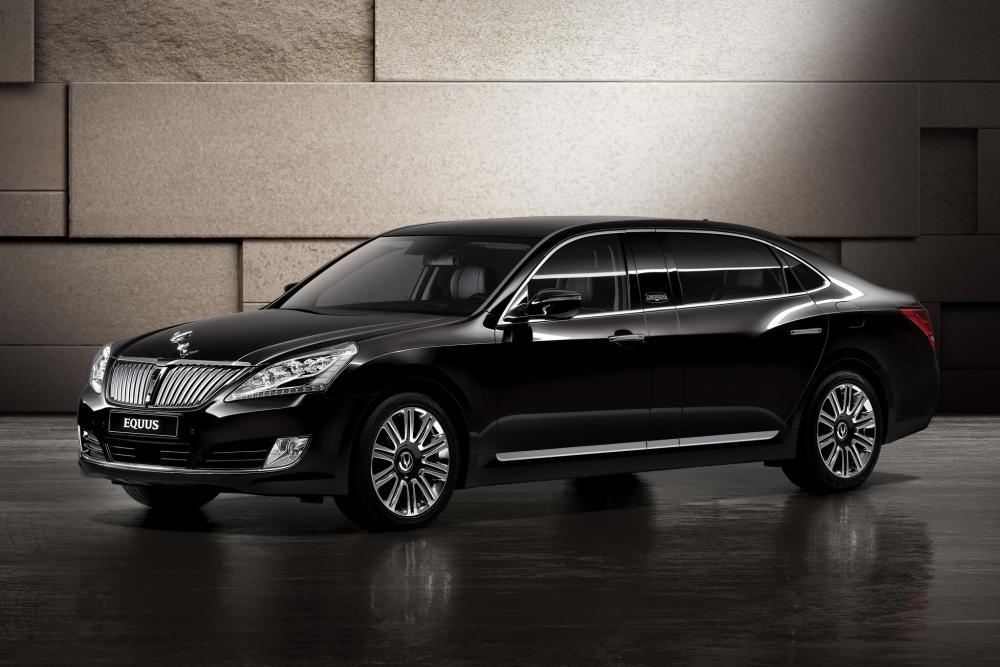 Hyundai Equus 2 поколение [рестайлинг] (2013-2016) Лимузин