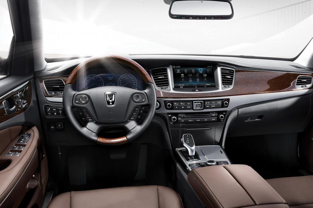 Hyundai Equus 2 поколение [рестайлинг] (2013-2016) Седан 4-дв. интерьер