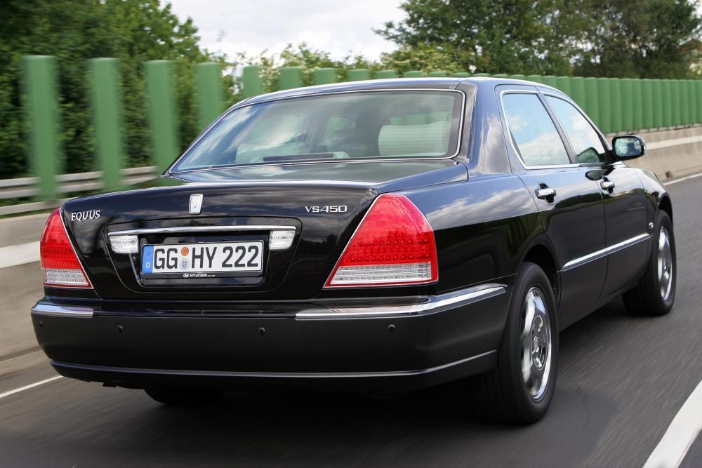 Hyundai Equus 1 поколение [рестайлинг] (2003-2008) Седан
