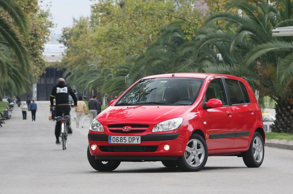 Hyundai Getz 1 поколение [рестайлинг] (2005-2011) Хетчбэк 5-дв.