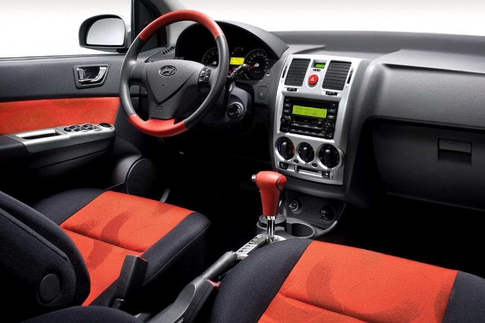 Hyundai Getz 1 поколение [рестайлинг] (2005-2011) Хетчбэк 5-дв. интерьер