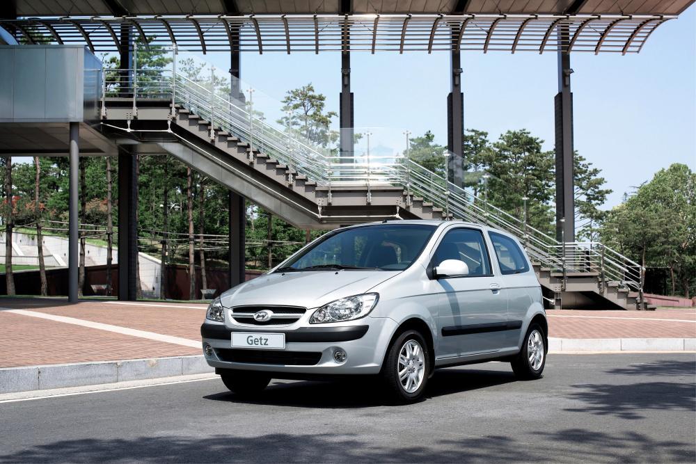 Hyundai Getz 1 поколение [рестайлинг] (2005-2011) Хетчбэк 3-дв.