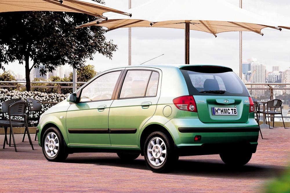 Hyundai Getz 1 поколение (2002-2005) Хетчбэк 5-дв.