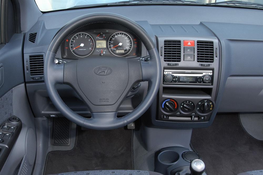 Hyundai Getz 1 поколение (2002-2005) Хетчбэк 5-дв. интерьер