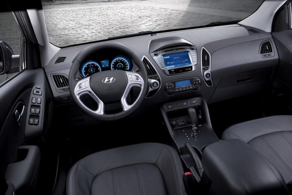 Hyundai ix35 1 поколение (2010-2015) Кроссовер 5-дв. интерьер