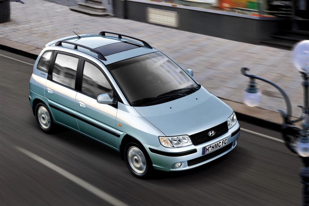 Hyundai Matrix 1 поколение [рестайлинг] (2005-2008) Минивэн