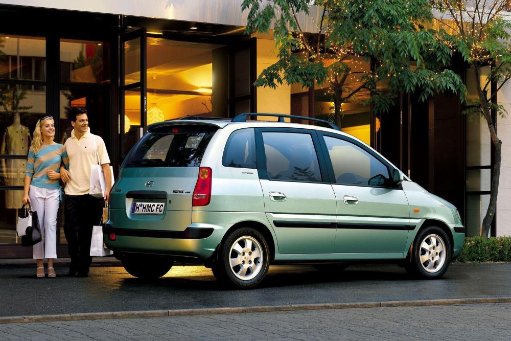 Hyundai Matrix 1 поколение (2001-2005) Минивэн