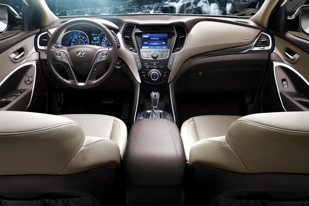 Hyundai Santa Fe 3 поколение DM (2012-2016) Кроссовер 5-дв. интерьер